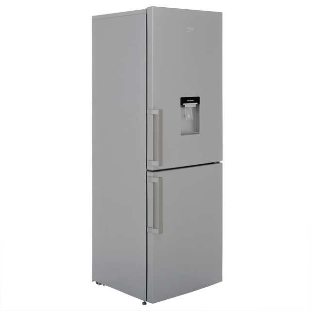Beko CFP1675DS 60/40 Frost Free Fridge Freezer - Silver - A+ Rated