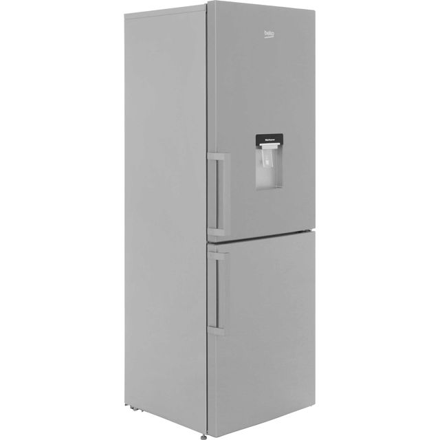 Beko CFP1675DX Frost Free Fridge/Freezer - Stainless Steel