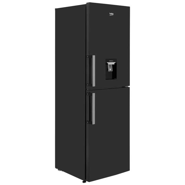 Beko 50/50 Frost Free Fridge Freezer - Black - A+ Rated