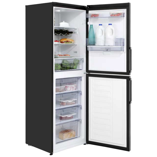 Beko CFP1691DB 50/50 Frost Free Fridge Freezer - Black - CFP1691DB_BK - 2