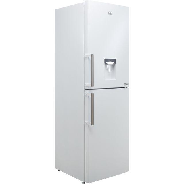 Beko HarvestFresh CFP3691DVW 50/50 Frost Free Fridge Freezer - White - F Rated