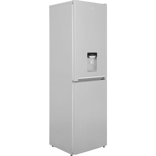 Beko CRFG1582DS 50/50 Frost Free Fridge Freezer - Silver - A+ Rated