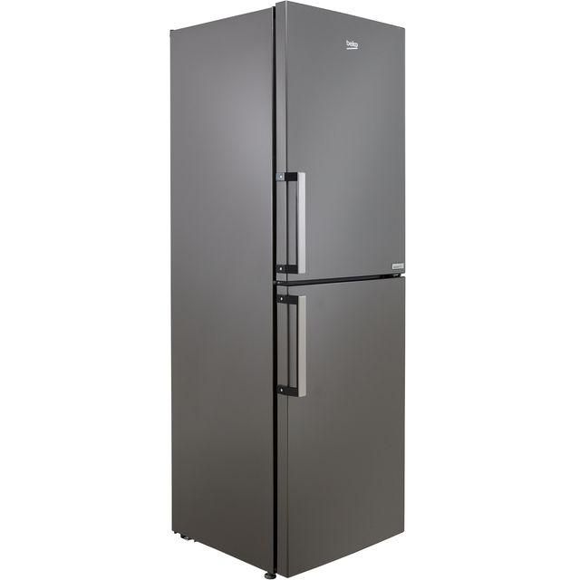 Beko HarvestFresh CRFP3691VG 50/50 Frost Free Fridge Freezer - Graphite - F Rated