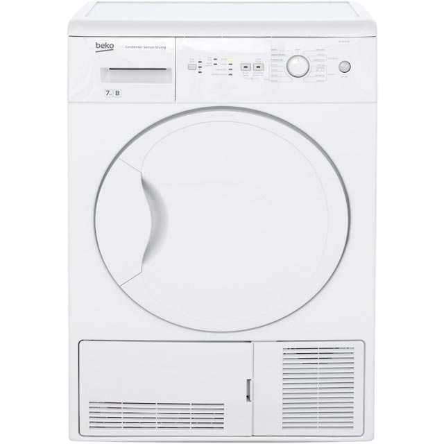 Beko DCUR701W Free Standing Condenser Tumble Dryer in White