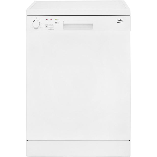 Beko DFN05R10W Free Standing Dishwasher in White