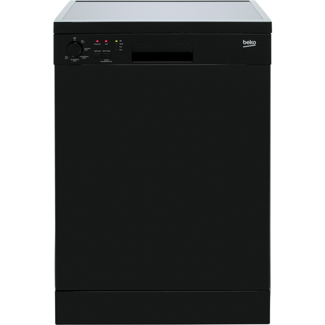 Beko DFN05R11B Standard Dishwasher - Black - A+ Rated - DFN05R11B_BK - 1