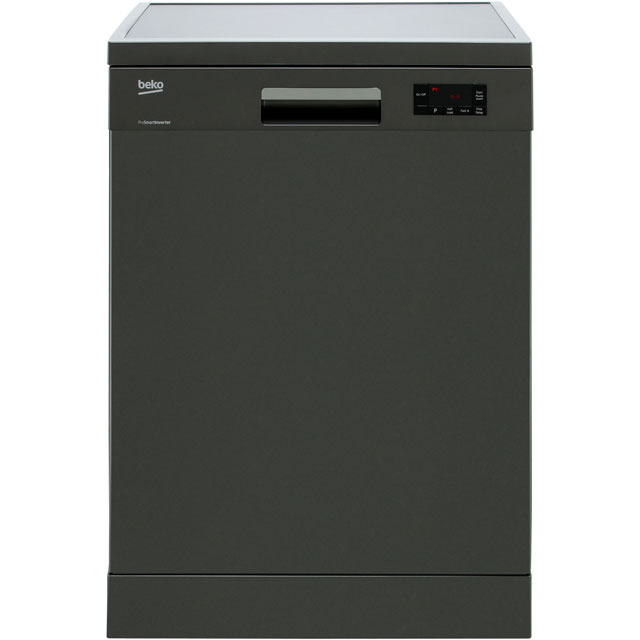 Beko DFN16420G Standard Dishwasher - Graphite - A++ Rated - DFN16420G_GH - 1