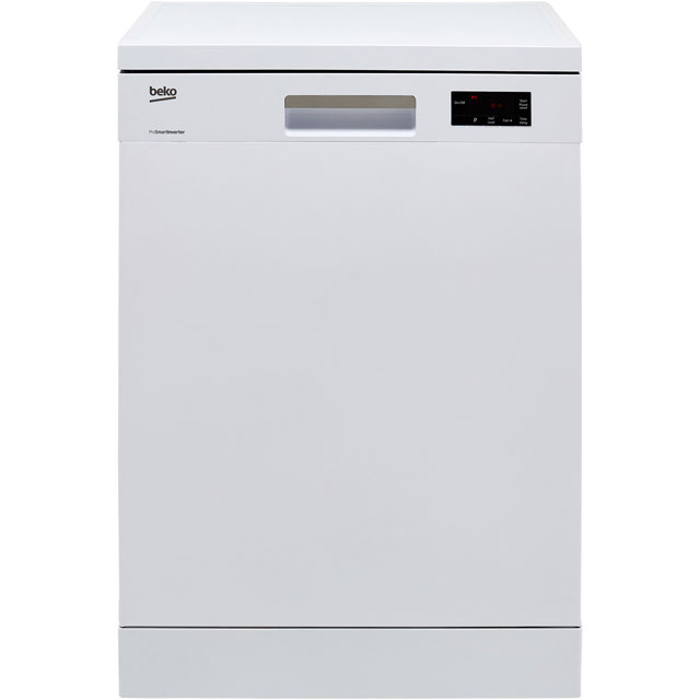 Beko DFN16420W Standard Dishwasher - White - A++ Rated - DFN16420W_WH - 1