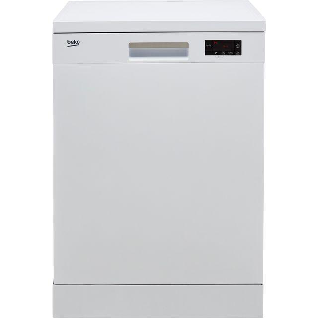 Beko DFN16430W Standard Dishwasher - White - D Rated