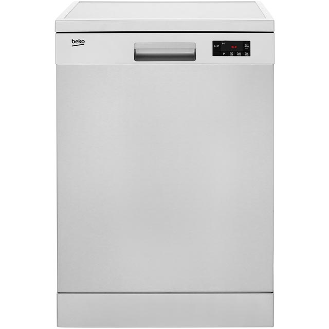 Beko DFN16R10X Standard Dishwasher - Stainless Steel - A+ Rated - DFN16R10X_SS - 1