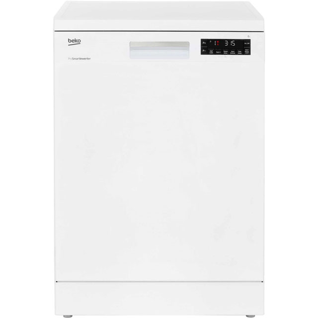 Beko DFN28320W Standard Dishwasher - White - A++ Rated Best Price, Cheapest Prices