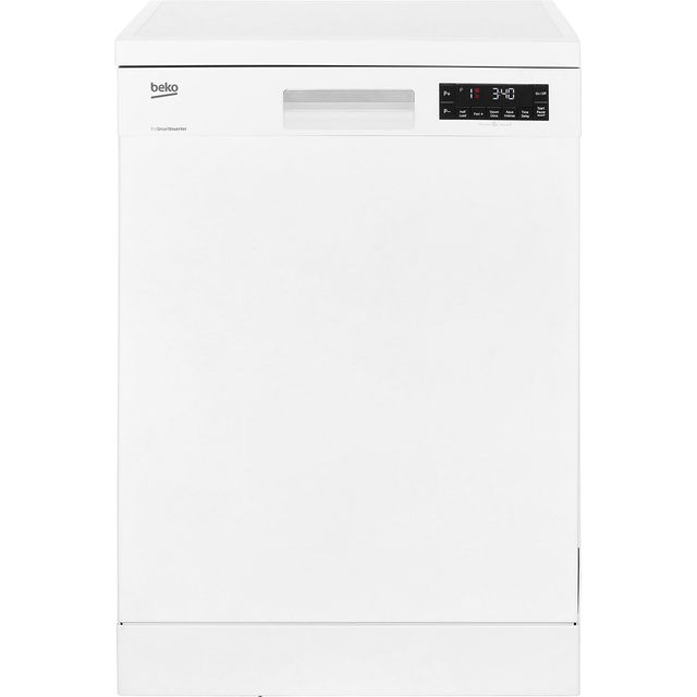 Beko DFN28R22W Standard Dishwasher - White Best Price, Cheapest Prices