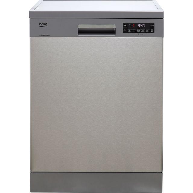 Beko DFN28R22X Standard Dishwasher - Stainless Steel - F Rated