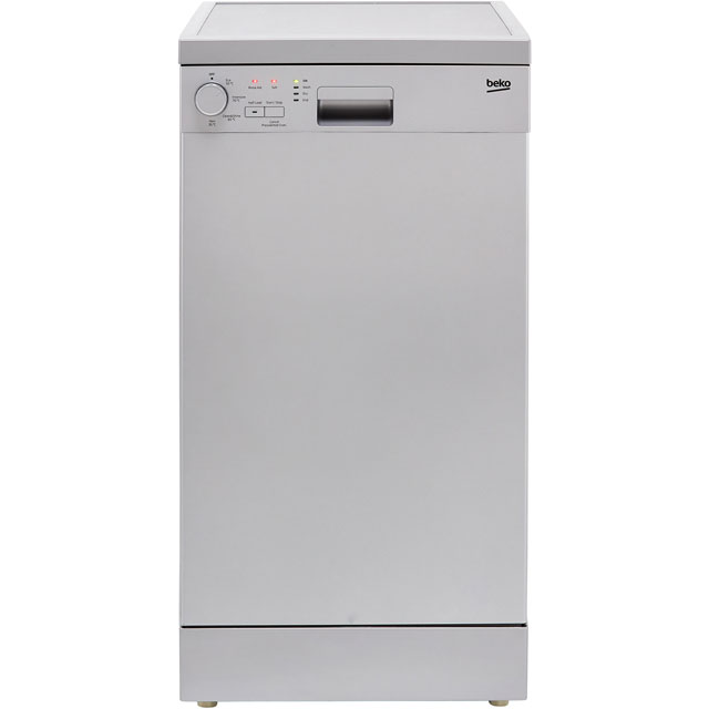 Beko Slimline Dishwasher - Silver - A+ Rated