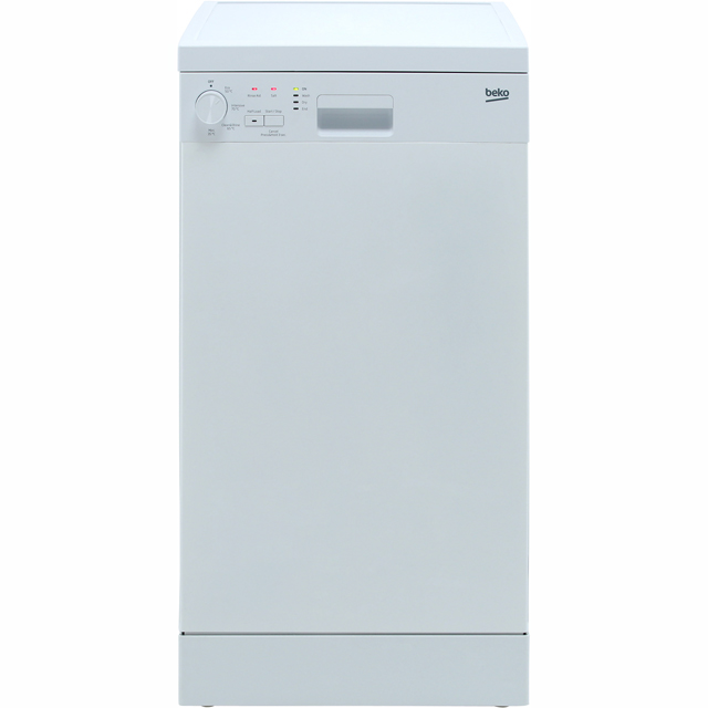 Beko DFS04R11W Slimline Dishwasher - White - A+ Rated - DFS04R11W_WH - 1