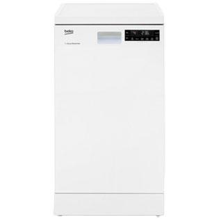 Beko DFS28R20W Free Standing Slimline Dishwasher in White