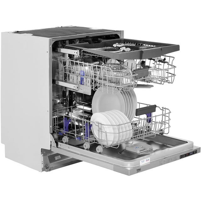 Beko DIN28R22 Fully Integrated Standard Dishwasher - Silver - DIN28R22_SI - 5