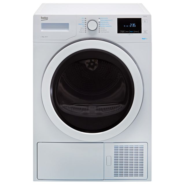 Beko DPH8744W 8Kg Heat Pump Tumble Dryer - White - A++ Rated