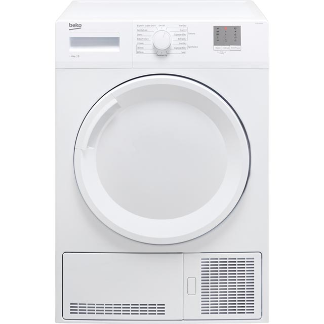 Beko DTGC10000W 10Kg Condenser Tumble Dryer - White - B Rated - DTGC10000W_WH - 1
