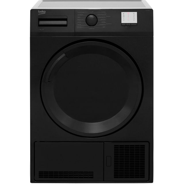 Beko DTGC7000B 7Kg Condenser Tumble Dryer - Black - B Rated - DTGC7000B_BK - 1