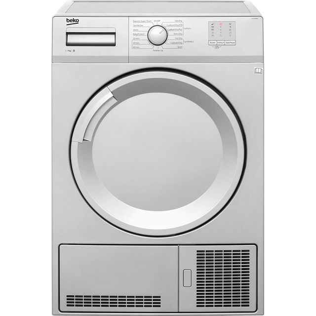 Beko DTGC7000S 7Kg Condenser Tumble Dryer - Silver - B Rated