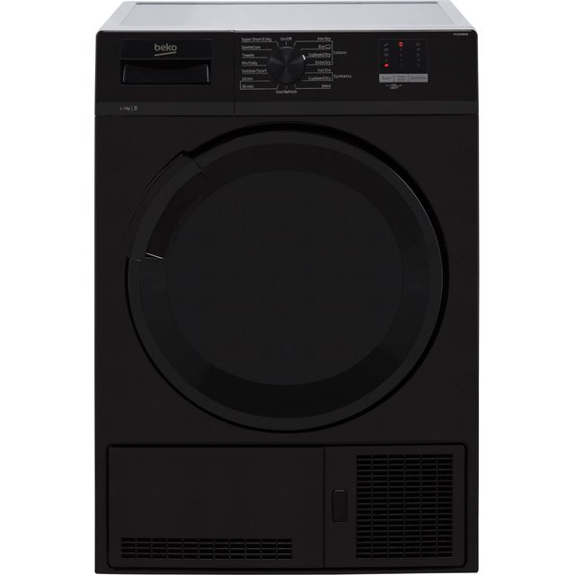 Beko DTLCE70051B 7Kg Condenser Tumble Dryer - Black - B Rated