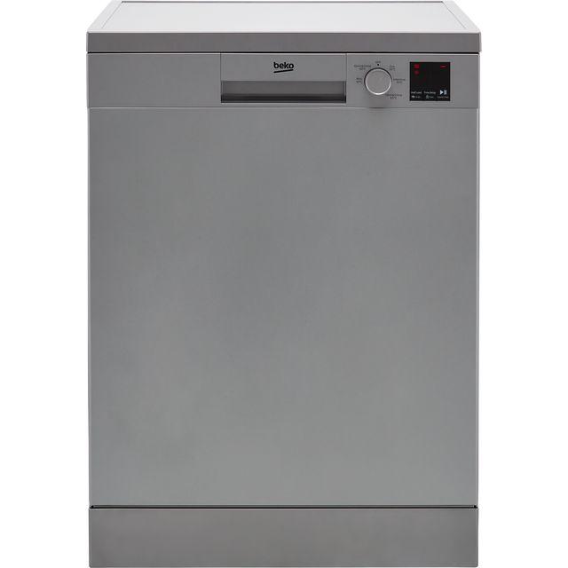 Beko DVN05R20S Standard Dishwasher - Silver - E Rated