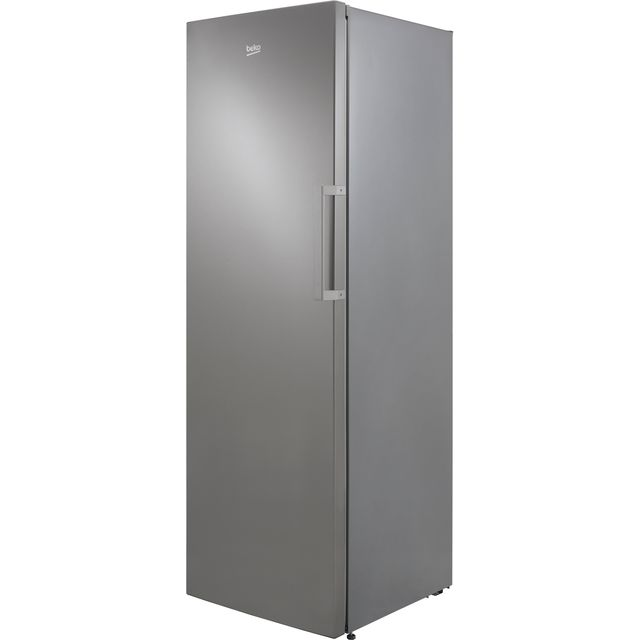 Beko FRFP1685X Frost Free Upright Freezer - Stainless Steel - A+ Rated - FRFP1685X_SS - 1