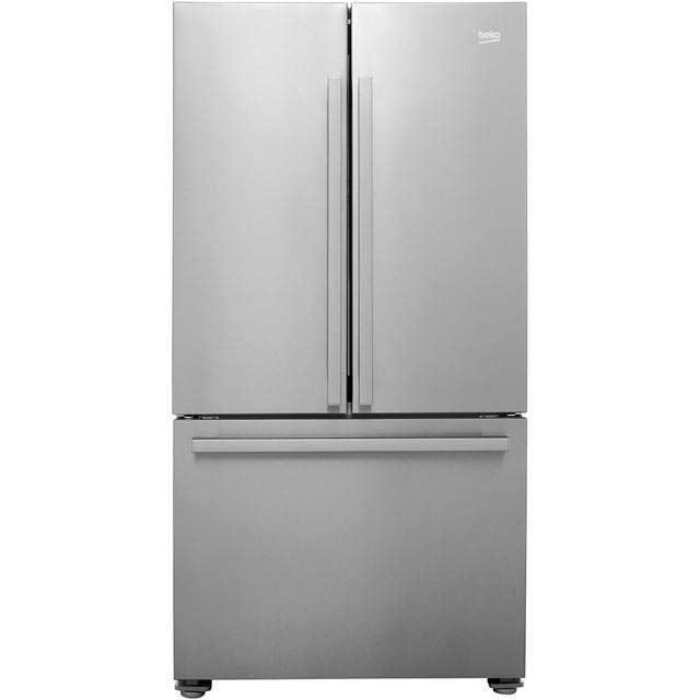 Beko GN1306211ZDX American Fridge Freezer - Stainless Steel - A+ Rated - GN1306211ZDX_SS - 1