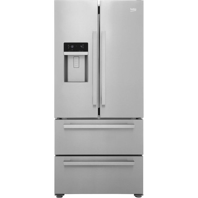 Beko GNE60520DX American Fridge Freezer - Stainless Steel - GNE60520DX_SS - 1