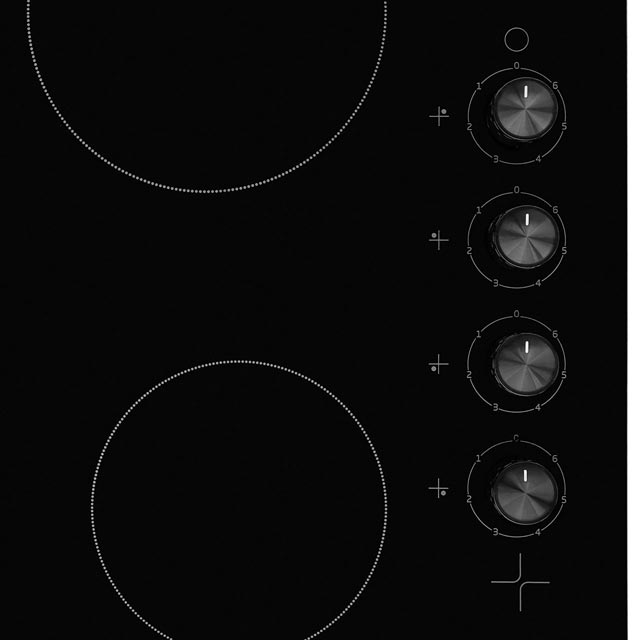 Beko HIC64102 Built In Ceramic Hob - Black - HIC64102_BK - 3