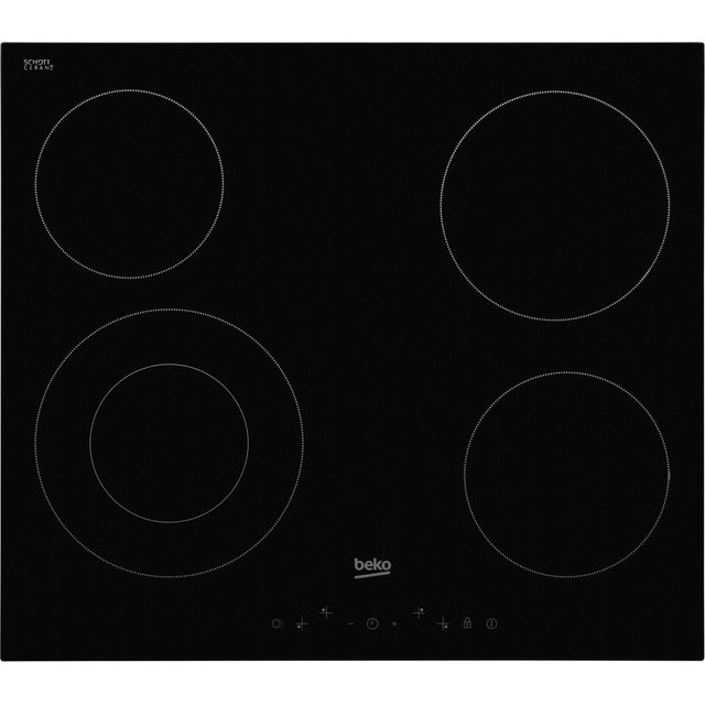Beko HIC64402T Built In Ceramic Hob - Black - HIC64402T_BK - 1