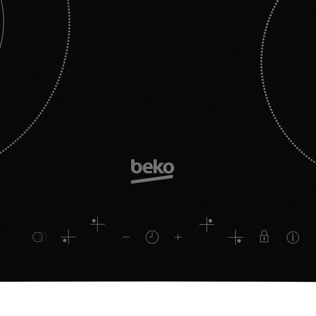 Beko HIC64402T Built In Ceramic Hob - Black - HIC64402T_BK - 2