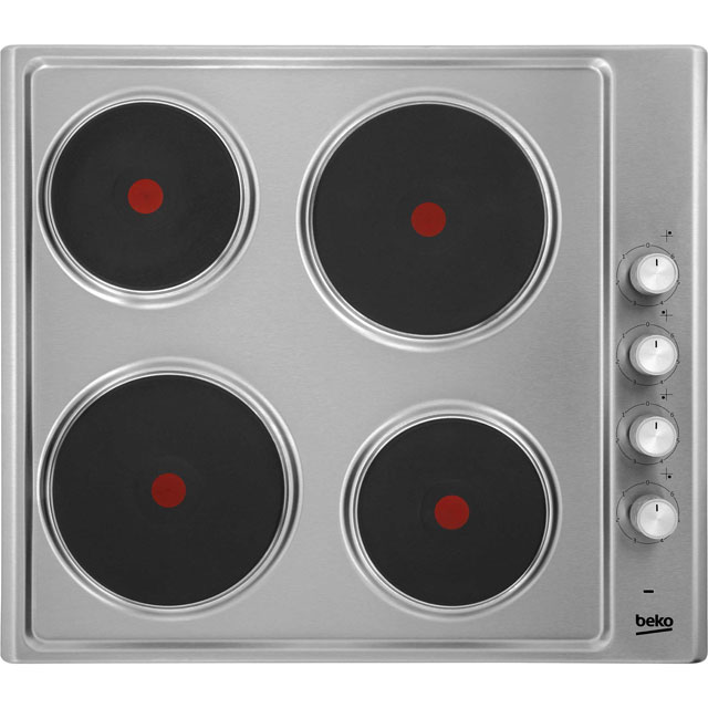 Beko HIZE64101X Integrated Electric Hob in Stainless Steel