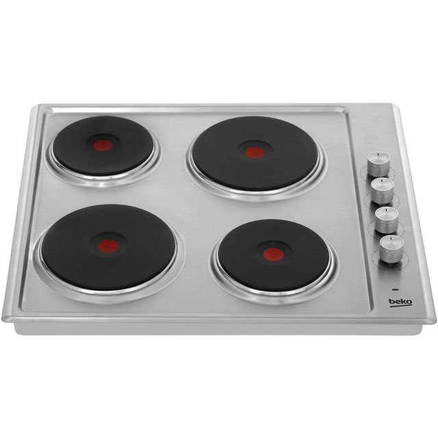 Beko HIZE64101X Built In Solid Plate Hob - Stainless Steel - HIZE64101X_SS - 5