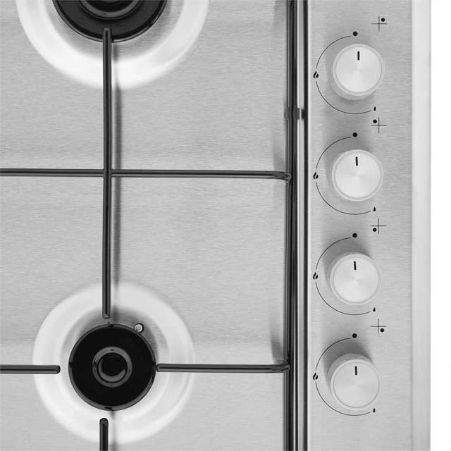 Beko HIZG64120SW Built In Gas Hob - White - HIZG64120SW_WH - 3