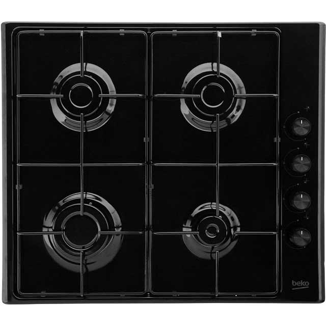 Beko HIZG64120SB Built In Gas Hob - Black - HIZG64120SB_BK - 1