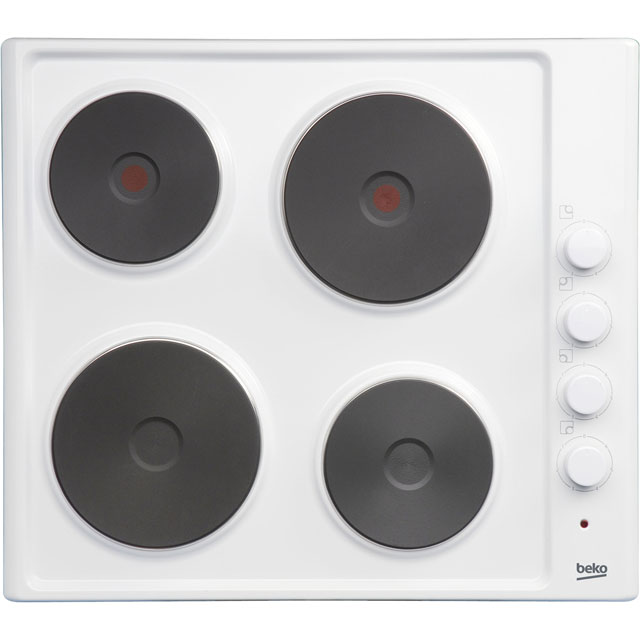 Beko HIZE64101W Integrated Electric Hob in White