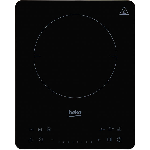 Beko HPI214B Mini Induction Hob - Black - HPI214B_BK - 1