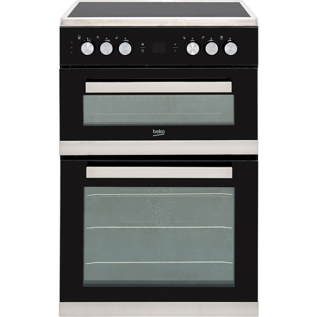 Beko JDC683X Electric Cooker with Ceramic Hob - Stainless Steel - A/A Rated - JDC683X_SS - 1