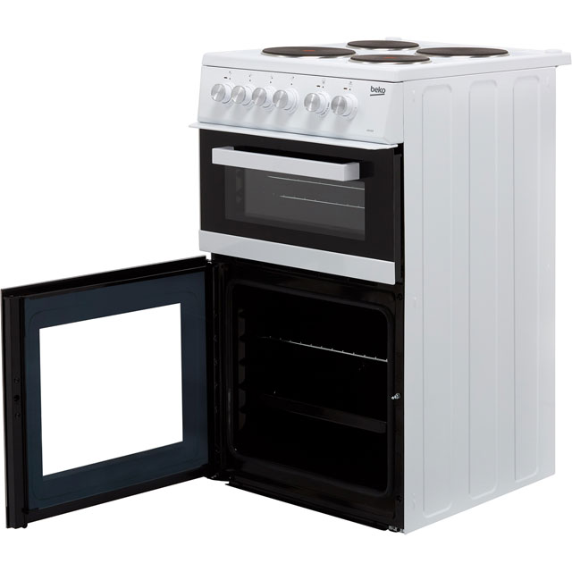 Beko KD532AW Electric Cooker - White - KD532AW_WH - 4