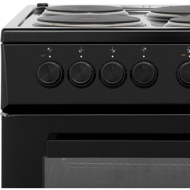 Beko KD533AK Electric Cooker - Black - KD533AK_BK - 4