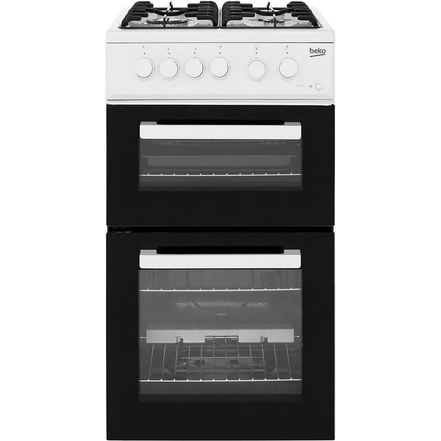 Beko 50cm Gas Cooker - White - A+ Rated