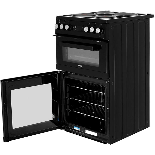 Beko KDV555AK Electric Cooker - Black - KDV555AK_BK - 3