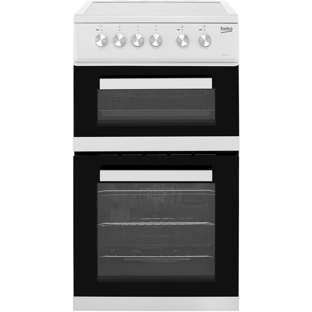 Beko Electric Cooker with Ceramic Hob - White - A/A Rated