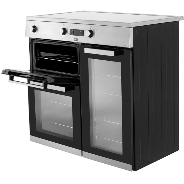 Beko KDVI90X Electric Range Cooker - Stainless Steel - KDVI90X_SS - 2