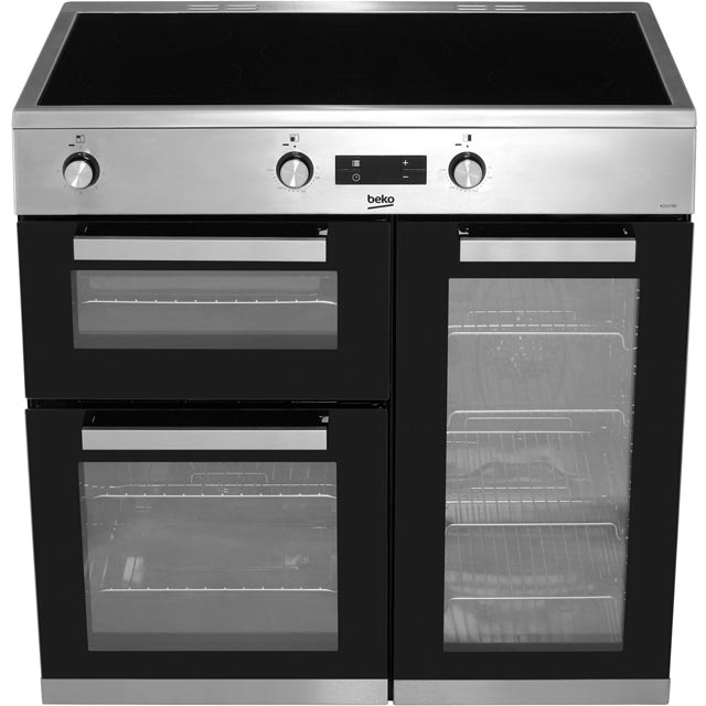 Beko KDVI90X Electric Range Cooker - Stainless Steel - KDVI90X_SS - 5