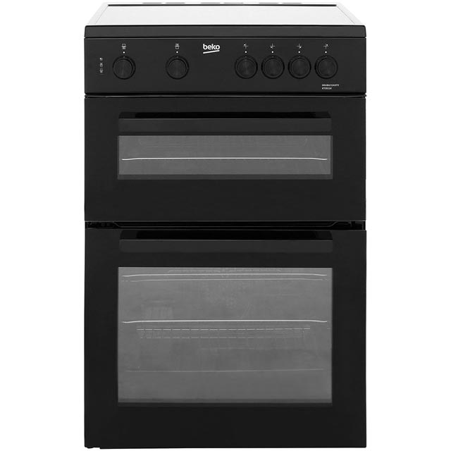 Beko KTC611K Electric Cooker with Ceramic Hob - Black - A Rated