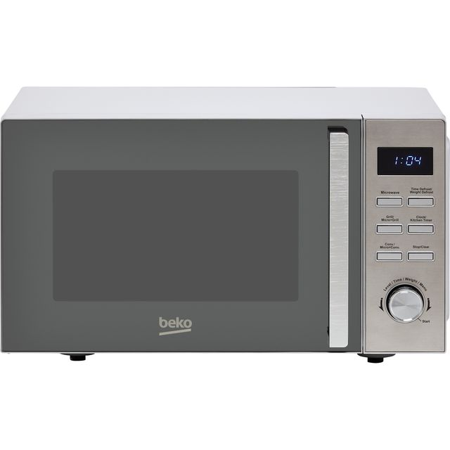 Beko MCF25210X 25 Litre Combination Microwave Oven - Stainless Steel