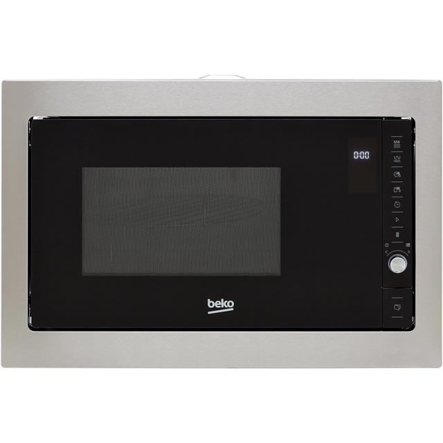 Beko MGB25332BG Built In Microwave - Black / Stainless Steel - MGB25332BG_BK - 1